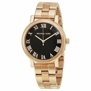 Michael Kors Norie Rose Gold-Tone Ladies Watch #12